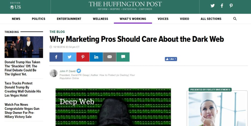 huffington post news